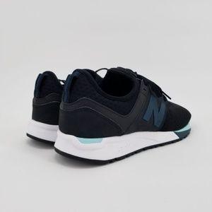 New Balance Black & Teal Vintage Mens Shoes